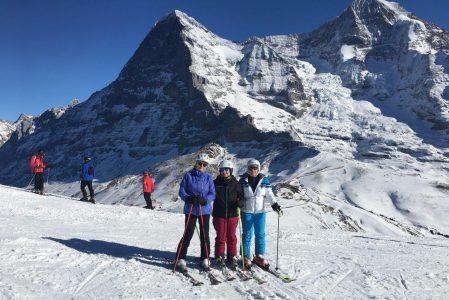 Skiwochenende im Berner Oberland